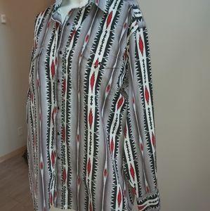 Vintage western shirt large